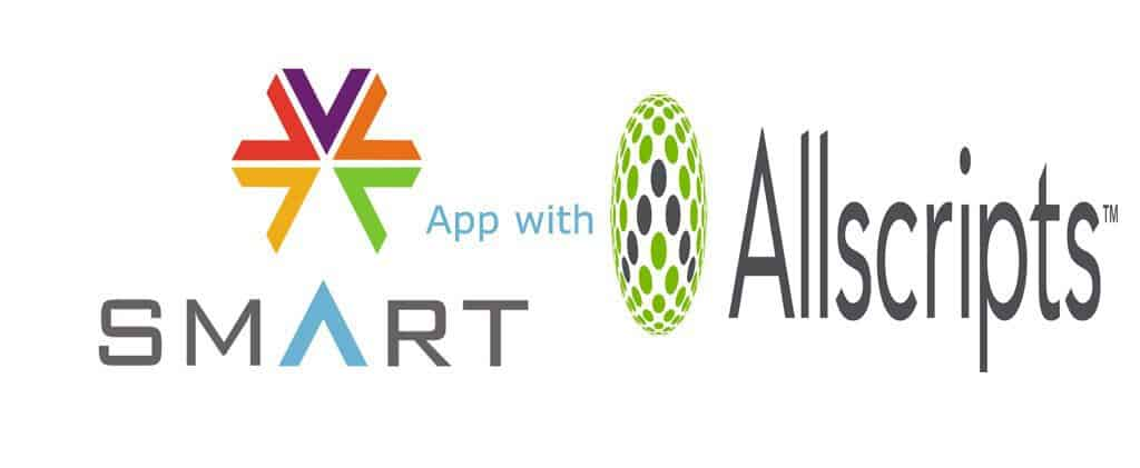 SMART on FHIR app with Allscript